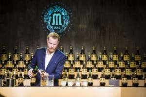 The Vero Bartender vincitore globale Marcus Fredriksson