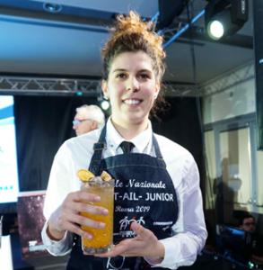 Rebecca Battistini vincitrice junior Cockt-Ail 2019