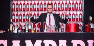 Corey Squarzoni Campari Barman Competition