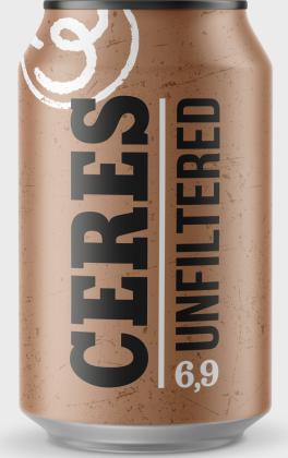 Ceres Unfiltered lattina 33 cl