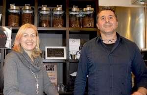 Claudia Balzan e Antonio Biscotti al Griso