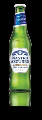 Birra Nastro Azzurro Sardegna by Birra Peroni bott 33 cl