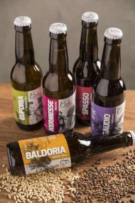 La gamma delle cinque specialità Beha in bottiglia 33 cl