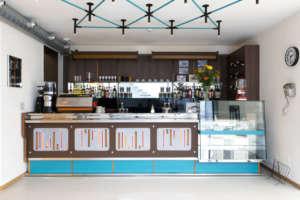 Il Bambi Bar all'interno dell'Accademia del Caffè Espresso