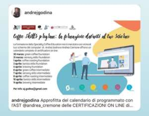 Le certificazioni on line di Andrej Godina