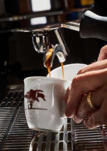 Le Piantagioni del Caffè, estrazione espresso
