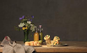 Salomon Food World_Mini Tortilla Egg & Cheese_Rezept_Mini Wrap