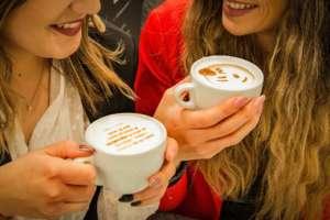 Photoglass cappuccino
