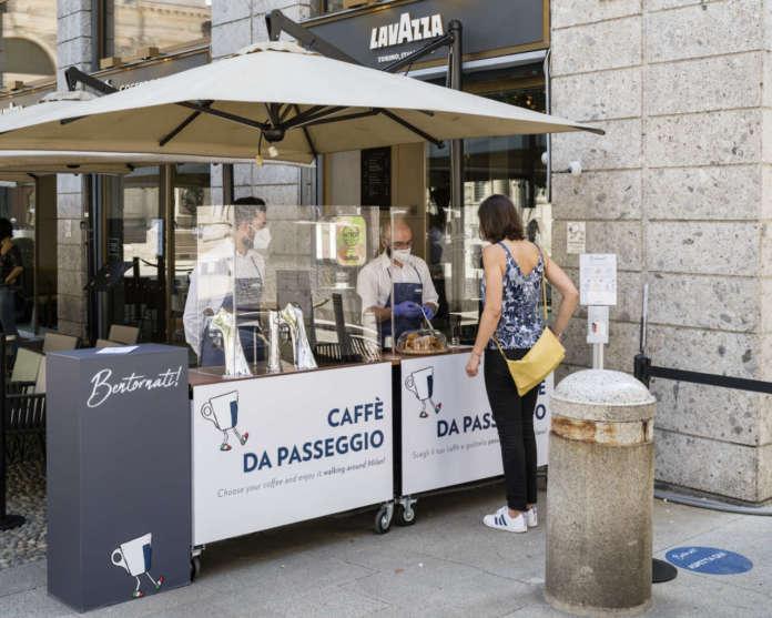 Al Flagship Store Lavazza si unisce la Coffee Station per l'asporto