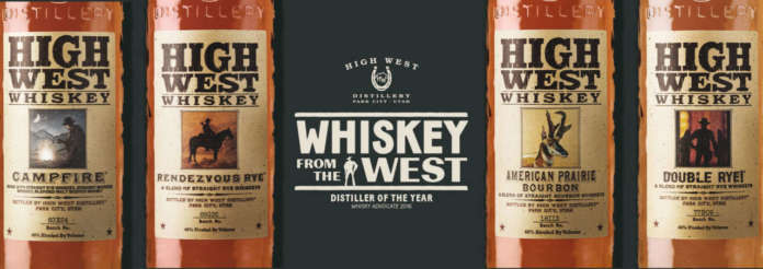 Gamma blended whiskey di High West Distillery, Utah