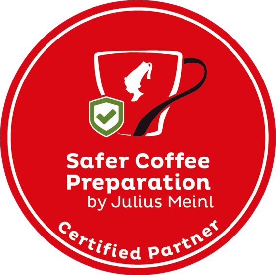 Logo Safer Coffee Preparation di Julius Meinl