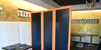 pannelli divisori protettivi Arnaboldi Interiors
