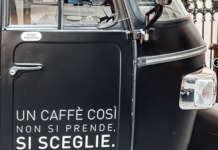 L'Ape tra i mezzi di Street Coffee Vergnano