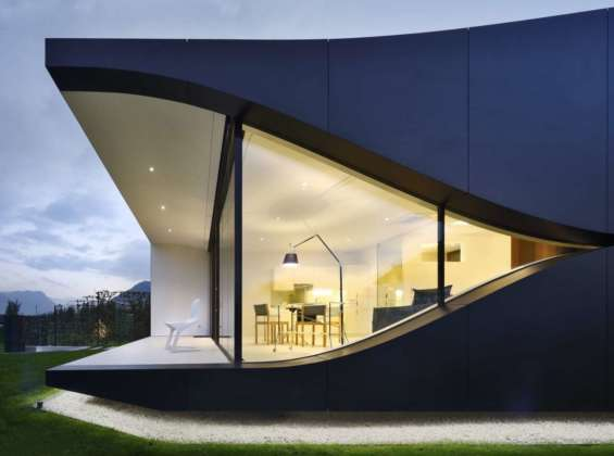 MIRROR HOUSES by Peter Pichler Architects - Photo by Oscar da Riz, courtesy of Peter Pichler Architects 7