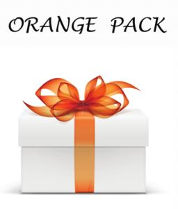 Orange Pack, il pacchetto base di 3 ricette