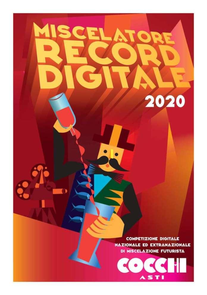 miscelazione futurista_miscelatore record digitale 2020