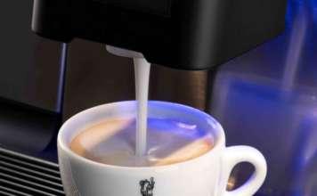 La Radiosa, erogazione latte per cappuccino