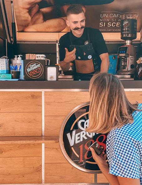 L'Ape di Caffè Vergnano a Castiglione della Pescaia