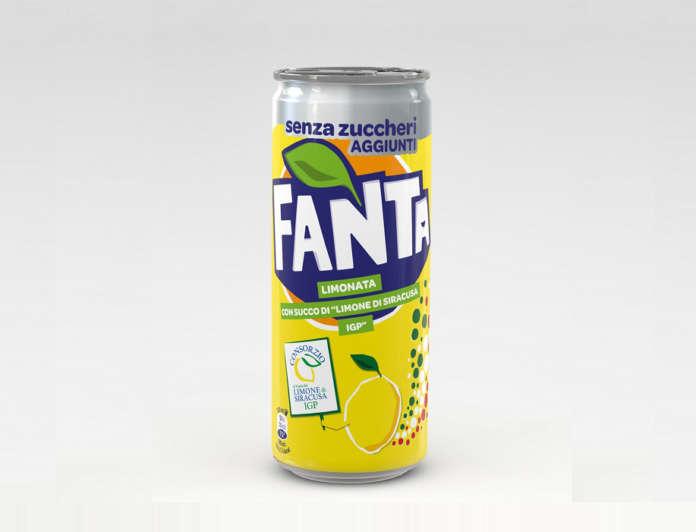 Fanta Limonata con succo di Limone di Siracusa Igp