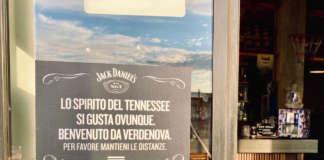 Jack Daniel's distanziamento sociale