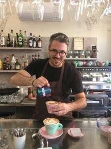 Matteo Rittano si occupa della caffetteria