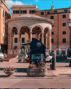 L'Ape di Caffè Vergnano a Rapallo