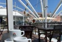 Temporary coffee shop Tazze Pazze