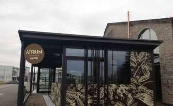 Atrium Caffè visto dall'esterno