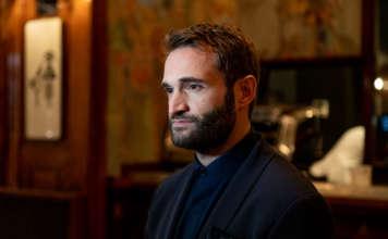 Tommaso Cecca, head bartender del Camparino