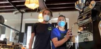 Adriano Cafiso e Antonio Biscotti al Griso di Seveso (Milano)