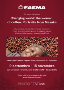 Locandina mostra fotografica al flagship Faema_Photofestival 15th