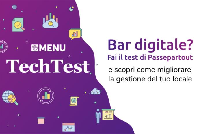 Passepartout TechTest Menu