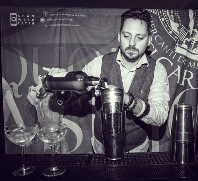 Patrick Piazza presenta Il Sogno Blu di Tequila Corallejo