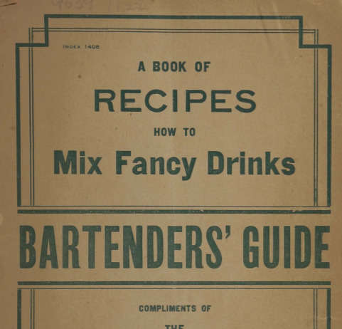 A Book Of Recipes How To Mix