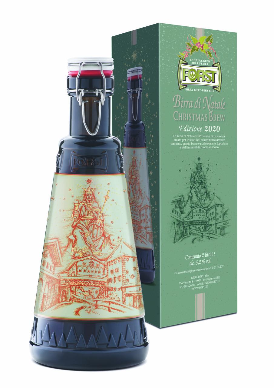 Birra Di Natale Forst Con Una Nuova Confezione Bargiornale