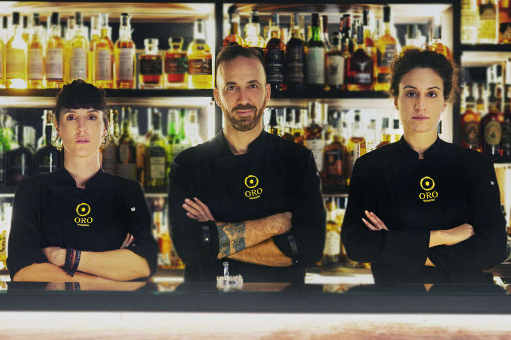 Oro whisky bar staff