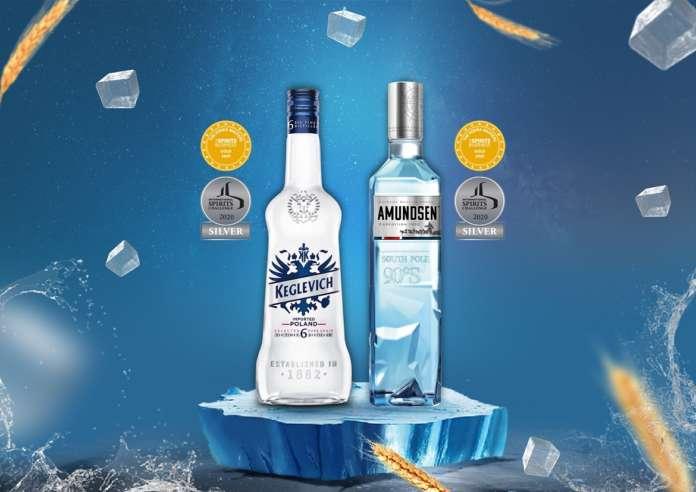 Stock vodka Keglevich Dry e Amundsen Expedition