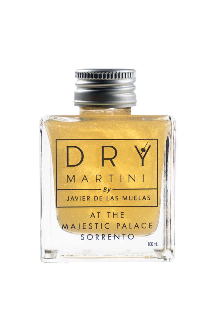 Golden Heritage, drink con polvere di stelle, del Dry Martini Sorrento