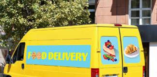 veicoli aziendali food delivery