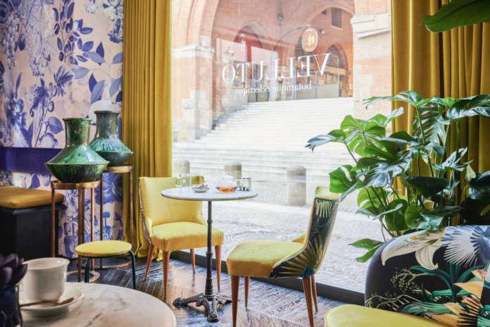 Velluto a Bologna si propone anche come tea room