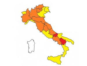 Classificazione regioni dal primo marzo _Dpcm 3 novembre