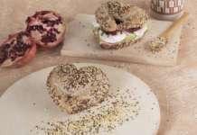 Vandemoortele cuore di melagrano con quinoa e miglio
