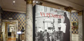 Ingresso mostra Va Pensiero, Foto Brescia e Amisano