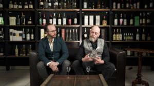 Federico S. Bellanca e Mauro Uva in una scena del nuovo programma Spirito d'Uva