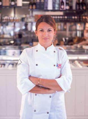 Giorgia Proia, responsabile del laboratorio di Casa Manfredi. foto Romedia Studio
