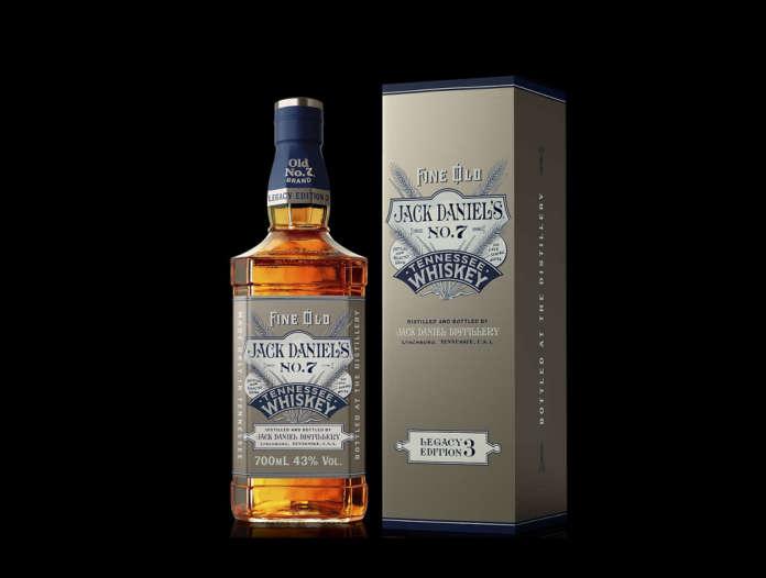 Jack Daniel's limited edition Old N 7