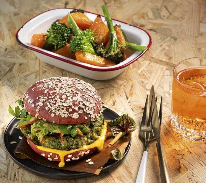 Green Oat Burger Salomon FoodWorld