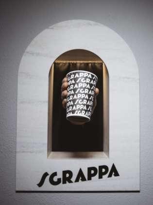 bicchiere SGRAPPA E VIA!