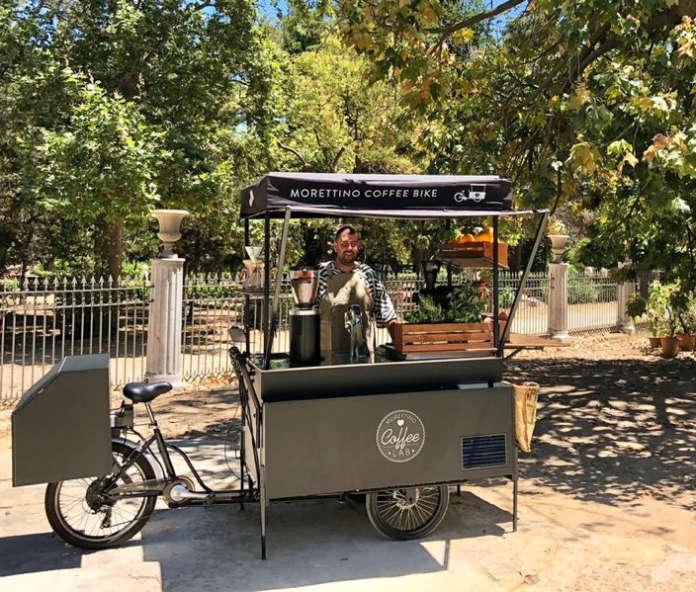 Morettino Coffee Bike