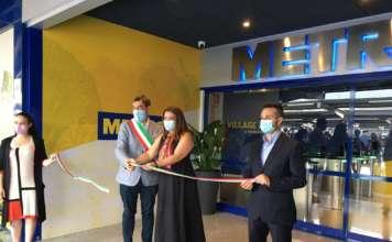 Inaugurazione Metro Village
